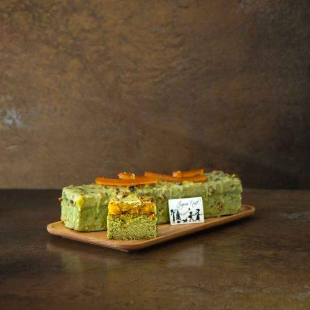 Pistachio Orange Pound Cake