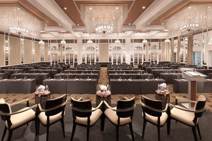 InterContinental Singapore Grand Ballroom Classroom Meeting Setup