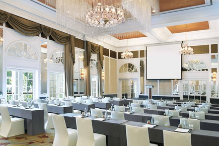 InterContinental Singapore Bugis Grand Ballroom Meetings Classroom Setup