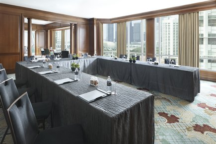 InterContinental Singapore The Library U-Shape Meeting Set-Up