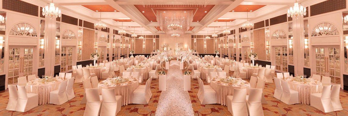 InterContinental Singapore Grand Ballroom Wedding