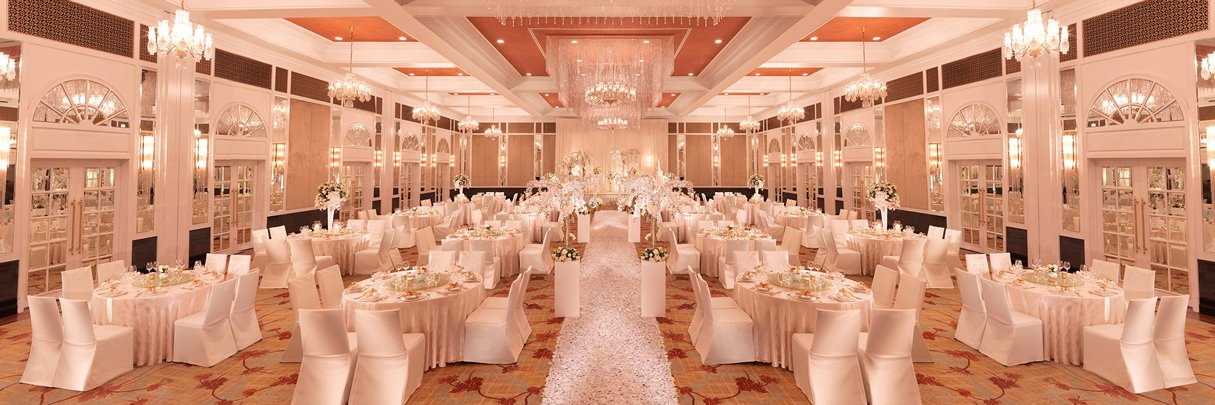 InterContinental Singapore Grand Ballroom Wedding