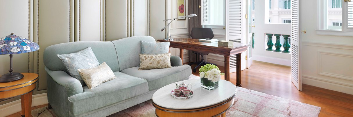 InterContinental Singapore Heritage Suite Living Room