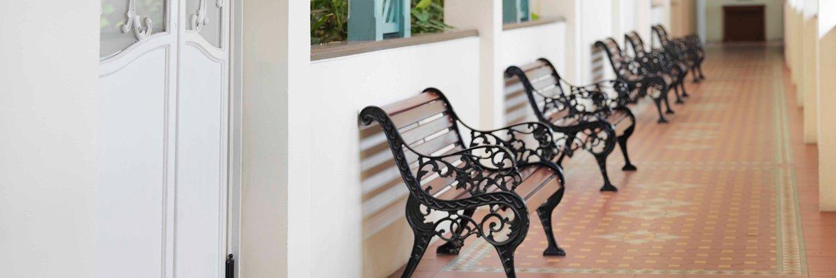 InterContinental Singapore Heritage Wing Corridor
