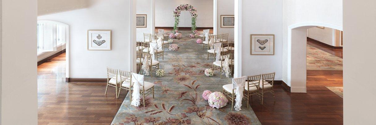 InterContinental Singapore Wedding Solemnisation
