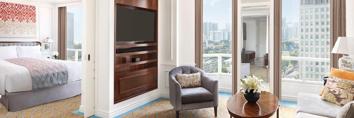 InterContinental Singapore Hotel Rooms Suites