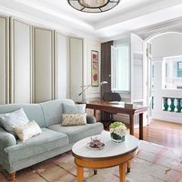 Timeless and elegant Straits Heritage decor makes the Heritage Suite one of the most sought-after ac