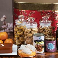 Convey your well wishes with the Prosperity Gift Hamper filled with delicacies like Superior Bird's