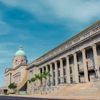Take a short walk towards the Civic District and explore National Gallery Singapore through a daily