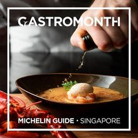 We are proud to be part of GastroMonth organised by MICHELIN Guide Singapore! For the month of Novem