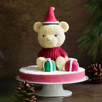 Father Christmas leaves a special gift for us this season with Santa's Teddy! Think bands of Earl Gr