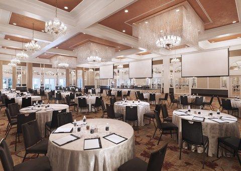 InterContinental Singapore Grand Ballroom Meetings Cluster Set-up