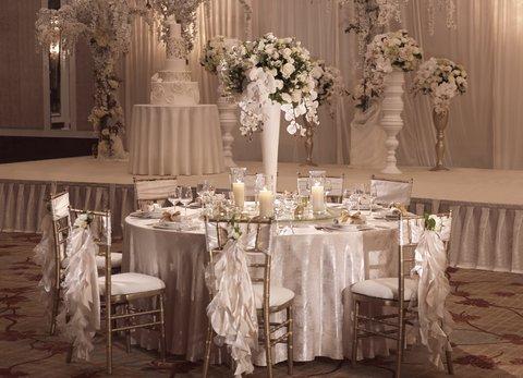 InterContinental Singapore - VIP Table Set Up