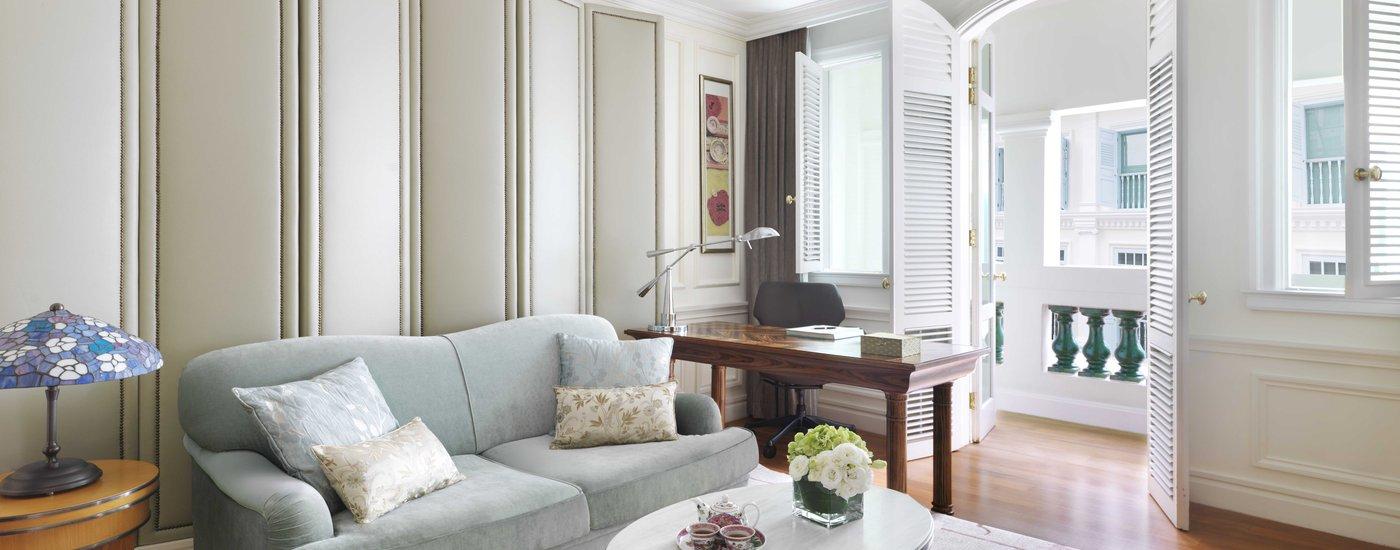 InterContinental Singapore Heritage Suite Living Area