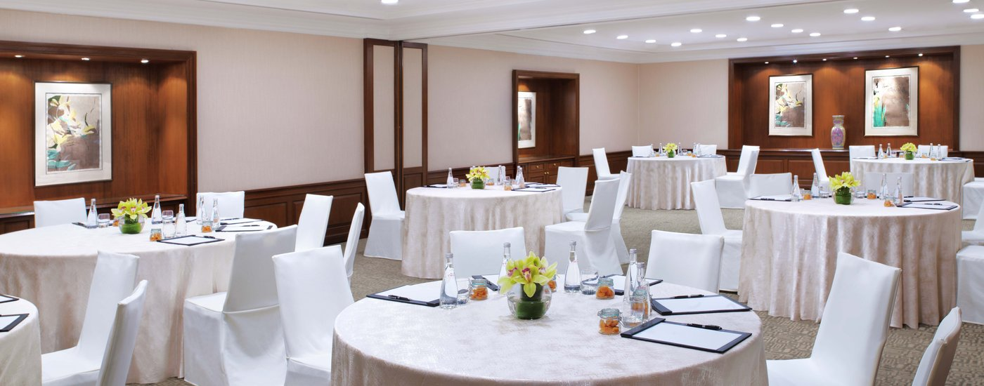 InterContinental Singapore Bras Basah Rooms Cluster Meeting Set Up