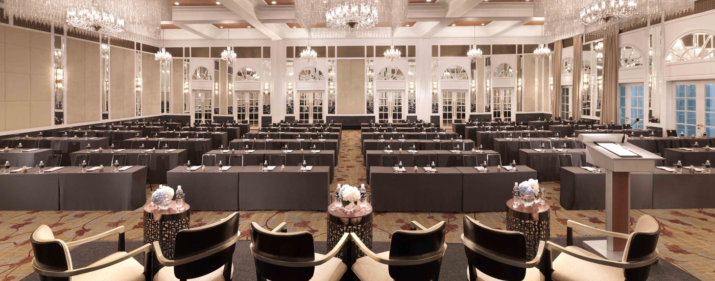 InterContinental Singapore Bugis Grand Ballroom Classroom Meeting Set-Up