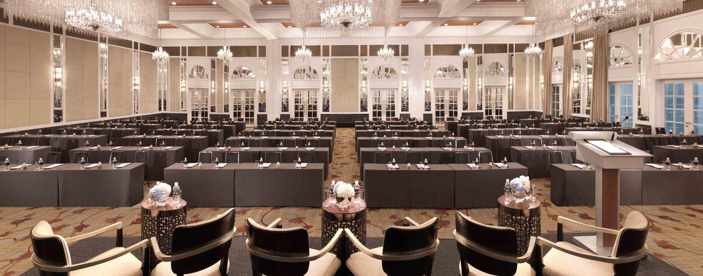 InterContinental Singapore Bugis Grand Ballroom Classroom Meeting Set-Up