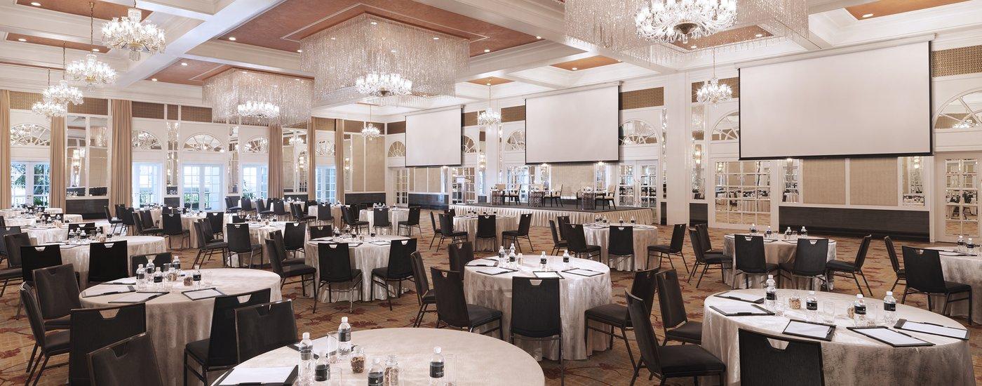InterContinental Singapore Bugis Grand Ballroom Cluster Meeting Set-Up