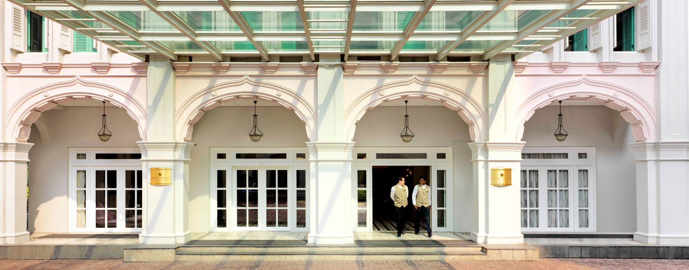 InterContinental Singapore Hotel Facade Entrance