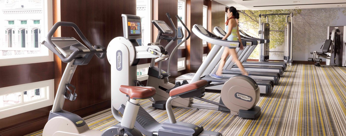 InterContinental Singapore Hotel 24-Hour Fitness Centre Gym