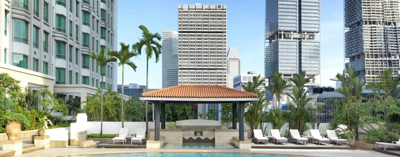 Hotel facilities intercontinental singapore - Rooftop swimming pool in singapore ...