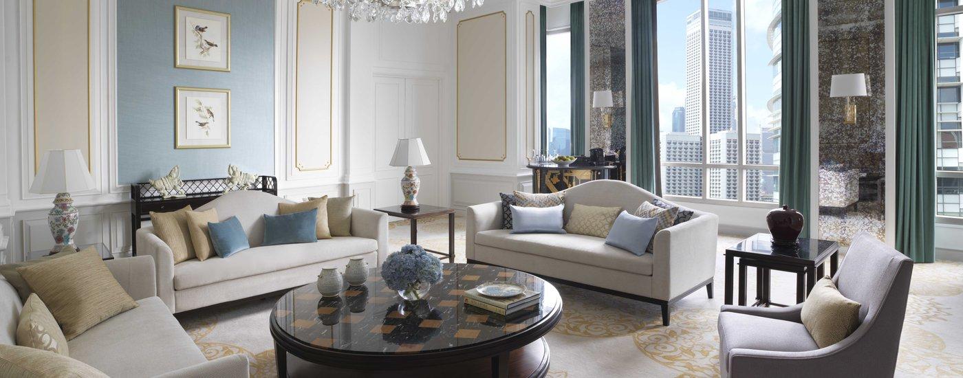 InterContinental Singapore Presidential Suite Living Area