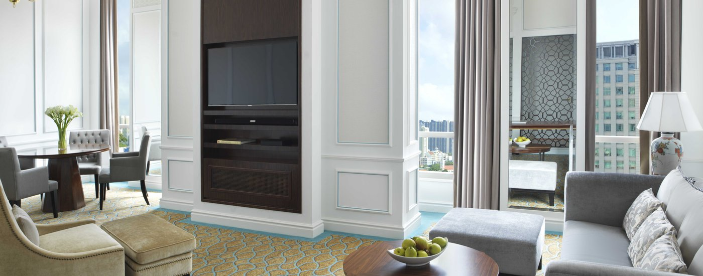 InterContinental Singapore Royal Suite Living Area
