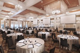 InterContinental Singapore Grand Ballroom Meetings Cluster Set-up