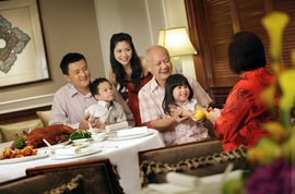 InterContinental Singapore Chinese New Year Celebration