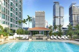 InterContinental Singapore Swimming Pool